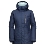 Jack Wolfskin NORTH TECH PARKA W (dark indigo)