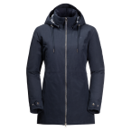 Jack Wolfskin WILDWOOD JACKET W (midnight blue)