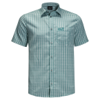 Jack Wolfskin EL DORADO SHIRT MEN (emerald green checks)