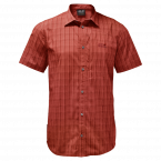Jack Wolfskin RAYS STRETCH VENT SHIRT MEN (mexican pepper checks)