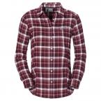 Jack Wolfskin WEST BROOK OC LS SHIRT W (dark berry checks)
