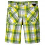Jack Wolfskin KIDS CUBE SHORTS (ivy green checks)