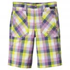 Jack Wolfskin KIDS CUBE SHORTS (soft violet checks)