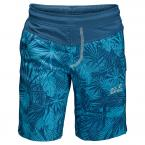 Jack Wolfskin JUNGLE SHORTS BOYS (turquoise all over)