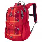 Jack Wolfskin KIDS GRIVLA PACK (indian red woven check)