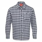 Craghoppers NosiLife TRISTAN LANGARMHEMD MEN (dark navy check)