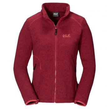Jack Wolfskin CARIBOU ASYLUM JACKET WOMEN (indian red)