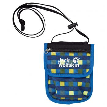 Jack Wolfskin KIDS BREASTPOUCH (night sky petit checks)